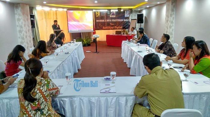 Dihadiri Dinas PUPR dan LPJK, DPD Proteksi Bali Laksanakan Musyawarah Daerah dan Pelantikan Pengurus
