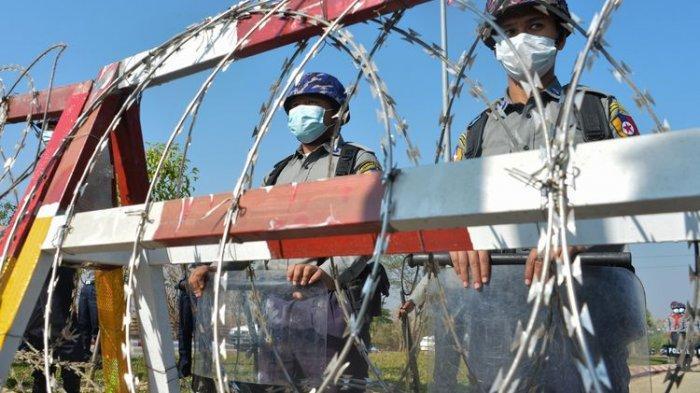 Bentrok Pecah di Myanmar, Demonstran Pendukung Aung San Suu Kyi Beraksi Hingga Berujung Penembakan