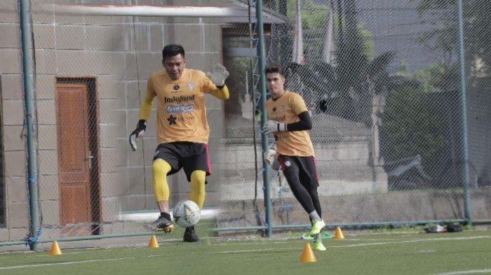 Kiper Bali United, Wawan Hendrawan dan Nadeo Argawinata