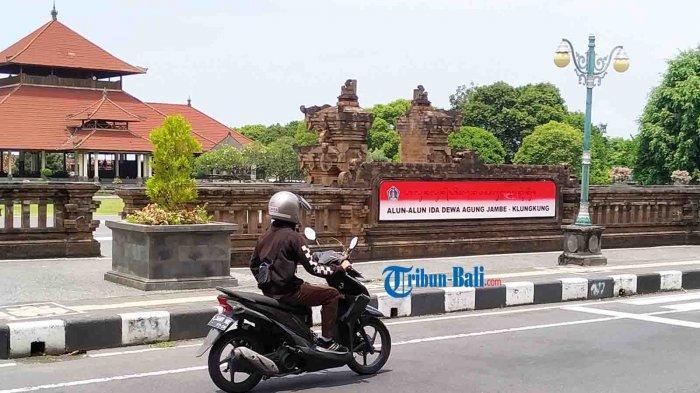 Lapangan Puputan Klungkung Bali Berganti Nama Menjadi Alun-Alun Ida Dewa Agung Jambe