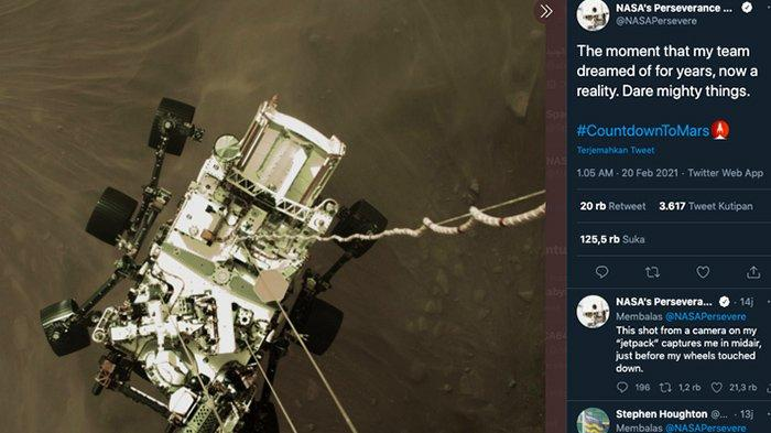 NASA Rilis Foto-foto Terbaru Planet Mars Usai Pendaratan Perseverance