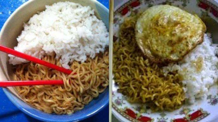 Ternyata ini Dampak Buruk Makan Mie Instan Pakai Nasi