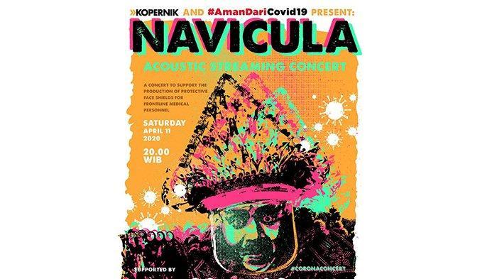 Galang Dana untuk APD, Navicula Gelar Live Streaming Corona Concert 2, Ini Bedanya dari yang Pertama