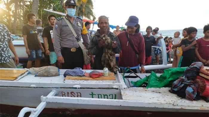 Terombang-ambing di Laut Selama 15 Hari,Sumailadesiki Ditemukan Selamat oleh Nelayan Asal Karangasem
