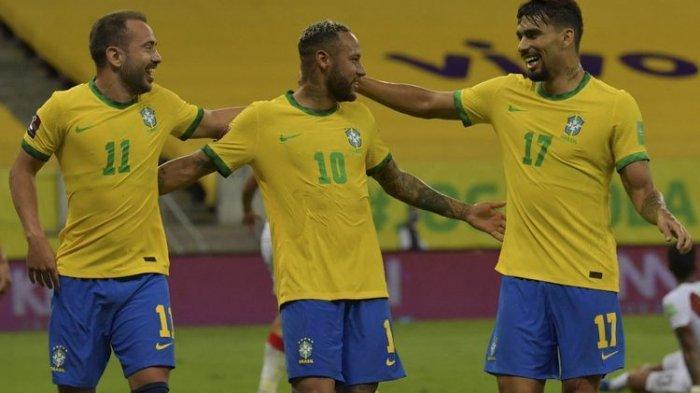 Prediksi Susunan Pemain Brasil Vs Uruguay di Kualifikasi Piala Dunia, Neymar dan Suarez Main
