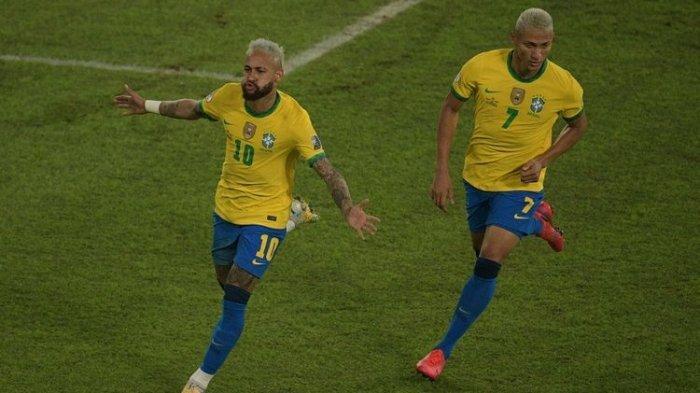 UPDATE Klasemen Copa America 2021: Gol Telat Casemiro Bawa Brasil Juara Grup, Kolombia Waswas