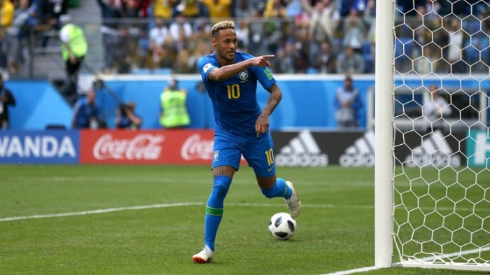 VIDEO! Neymar Menangis Terisak Di Ujung Laga Brazil vs Kosta Rika