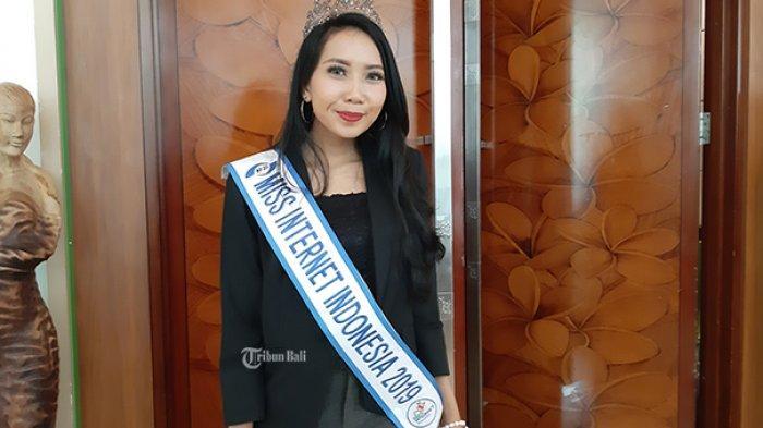 Mengenal Ni Luh Putu Diah Desvi Ariana, Miss Internet Indonesia 2019 dan Segudang Kesibukannya