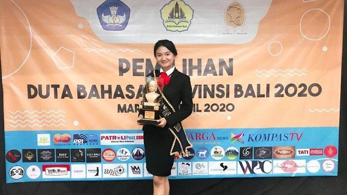 WIKI BALI - Ni Luh Putu Trisna Yunita Sari, Duta Bahasa Provinsi Bali 2020