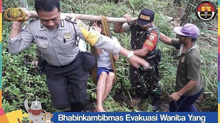Nyoman Sueca Tak Pernah Menyangka Lakukan Aksi Penyelamatan dengan Tandu pada Kemiringan 60 Derajat
