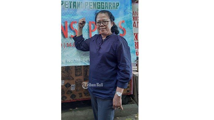 Ni Made Indrawati Menjadi Aktivis Agraria Sejak Muda,Selalu Anut Prinsip Ngayah