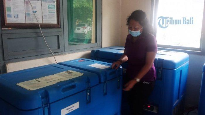 Terkendala Cold Chain, Dinkes Bangli Hanya Mampu Simpan Vaksin Dalam Jumlah Terbatas