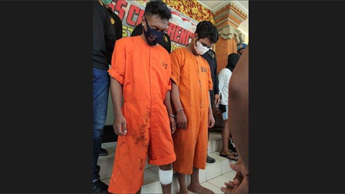 Tinggalkan Sepatu Saat Mencuri di Denpasar, Nikson dan Seprianus Tak Berkutik Saat Diringkus Polisi