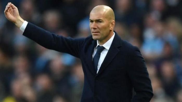 Target Zinedine Zidane Adalah Gelar Liga Spanyol Musim Ini Bagi Real Madrid