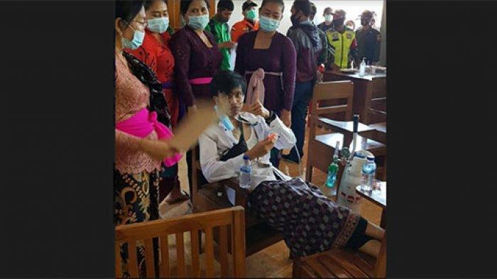 Alami KIPI Setelah Disuntik Vaksin Covid-19 di Buleleng Bali, Dwarsa Ngaku Trauma Divaksinasi