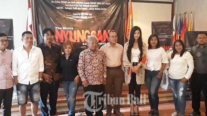 Pengalaman Seram Selama Shoting Film Nyungsang, Gek Arie Merasa Ada Yang Rasuki Dirinya