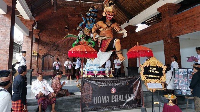 STT Eka Dharma Suwitra Tak Ingin Cabut Laporan Maling Ogoh-Ogoh