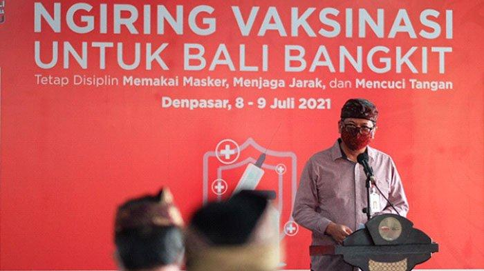 Vaksinasi Anggota FKLJK Provinsi Bali di OJK