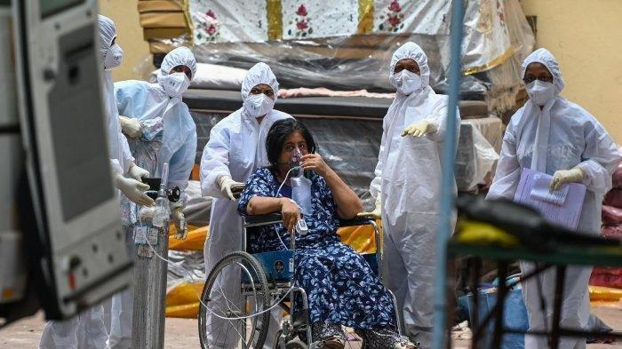 India Kembali Catatkan Rekor Kenaikan Harian Kasus Covid-19, Obat dan Oksigen Makin Langka