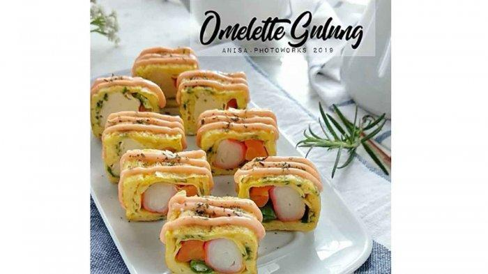 4 Ide Olahan Omelet untuk Menu Sahur Ramadhan,Ada Omelet Kentang Hingga Spanish Omelette
