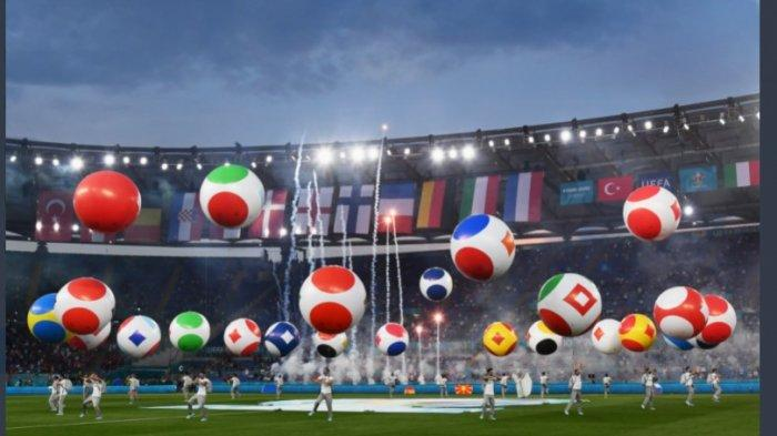 Opening Ceremony Euro 2020 Berlangsung Meriah, Pertunjukan dan Konser Menjadi Pembuka