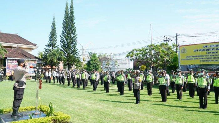Hari Ini Polisi Gencarkan Operasi Keselamatan Agung 2021, Ini Sasaran Dan Lokasinya di Denpasar