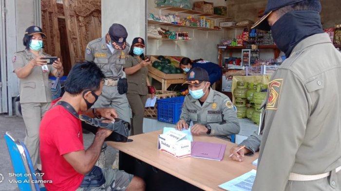 Operasi Prokes Selama Satu Jam di Bitera Gianyar Bali Jaring 11 Orang Pelanggar
