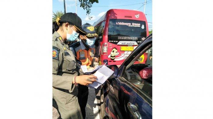 Tim Yustisi Kota Denpasar Gencarkan Sidak Prokes di Jalan Gunung Galunggung dan Pelabuhan Benoa