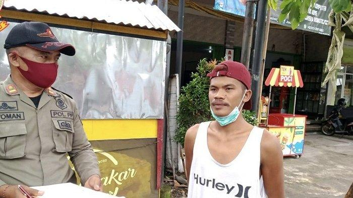 Ops Tertib Masker di Jalan Gajah Mada Jembrana Jaring 13 Pelanggar