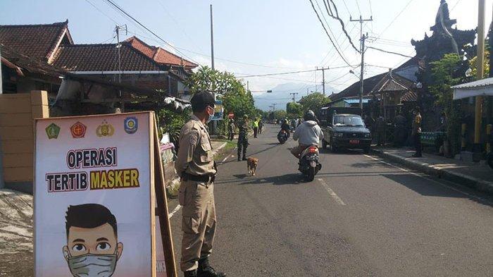 Masih Membandel, Enam Orang Terjaring Razia Masker di Jembrana Bali
