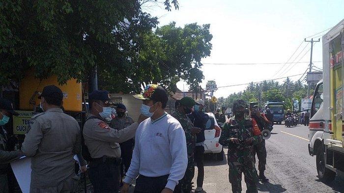 Operasi Yustisi di Jembrana,6 Pelanggar Tak Pakai Masker, 1 Tempat Usaha Tak Dilengkapi Thermogun