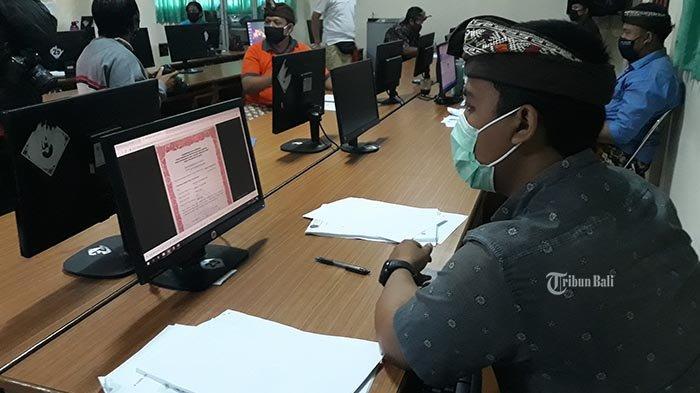 Pelaksanaan Pendaftaran PPDB Hari Pertama di Denpasar, SMPN 1 Denpasar Siapkan 6 Operator
