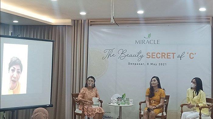 Lewat Talkshow, Miracle Aesthetic Clinic Denpasar Berikan Edukasi Soal Manfaat Vit C Bagi Kecantikan