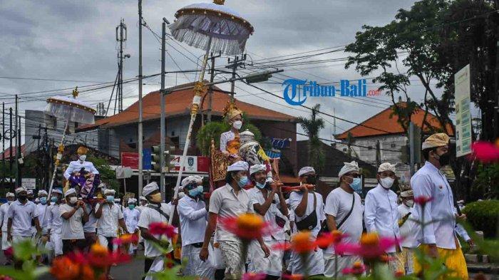 Puncak Palebon Ida Pedanda Nabe Gede Dwija Ngenjung pada 8 Oktober Hanya Libatkan 300-an Peserta