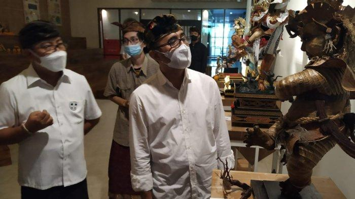 Buka Pameran Ogoh-Ogoh Mini Sekaa Teruna Denpasar, Wali Kota Jaya Negara Ajak Tetap Produktif