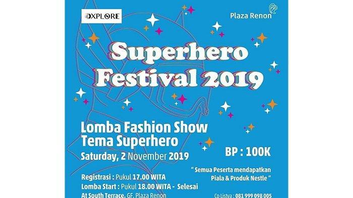 Peringati Hari Pahlawan di Bulan November, Dxplore Gelar Superhero Festival 2019