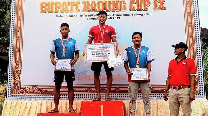 Pande Made Iron Digjaya Raih 3 Medali Emas di Bupati Badung Cup IX Tahun 2019