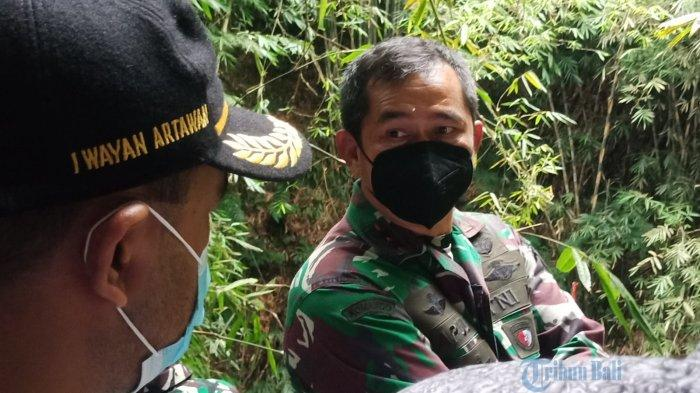 Pangdam IX Udayana Tinjau Pembangunan Pompa Hidram di Desa Penglumbaran Bangli