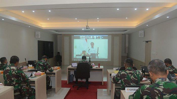 Pangdam IX/Udayana Ratas Penanganan Bencana Alam dengan Presiden Jokowi, Ini 5 Poin Arahannya