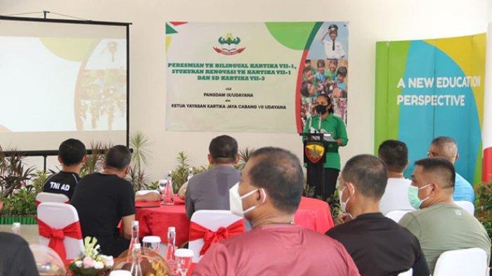 Kodam IX/Udayana Renovasi Sekolah Standar Internasional dan Buka Mini Market
