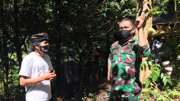 Permudah Akses Air Bersih, Kodam IX/Udayana Pasang Pompa Hidram di Mata Air Banyumala