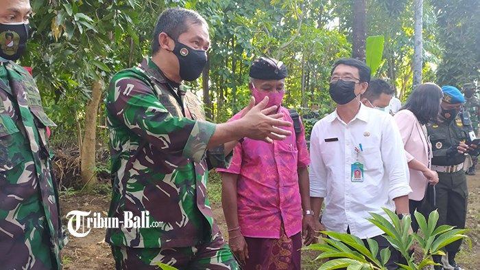 Kodam IX/Udayana Bakal Bangun Pompa Hidran untuk Petani di Desa Bukti Buleleng