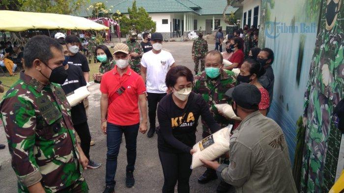 Tinjau Latihan Swab Anggota di Bali, Pangdam Udayana: Ini Darurat, Tracer TNI Harus Mampu Nge-Swab