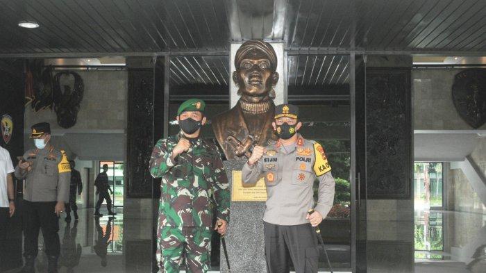 Pertama Kalinya Mayjen TNI Maruli Simanjuntak dan Irjen Pol Putu Jayan Bertemu, Apa yang Dibahas?