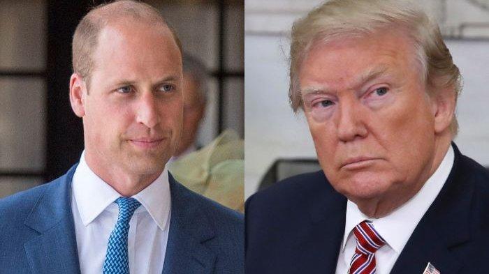 Surat Kabar Inggris Sebut Pangeran Charles dan Pangeran William Tolak Bertemu Presiden Donald Trump