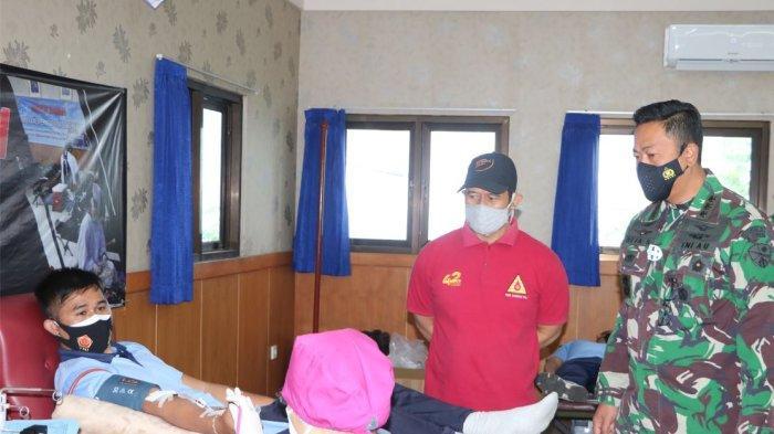 Peringati HUT TNI ke-76, Lanud I Gusti Ngurah Rai Gelar Donor Darah & Terapi Donor Plasma Konvalesen