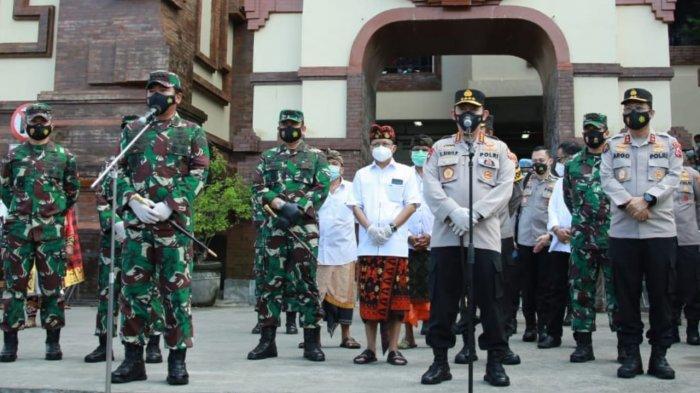 Kunker ke Bali, Panglima TNI : Saya Harapkan Masyarakat Disiplin Mematuhi Protokol Kesehatan