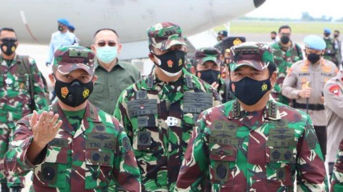 Panglima TNI dan Kapolri Tinjau Penerapan PPKM di Bali