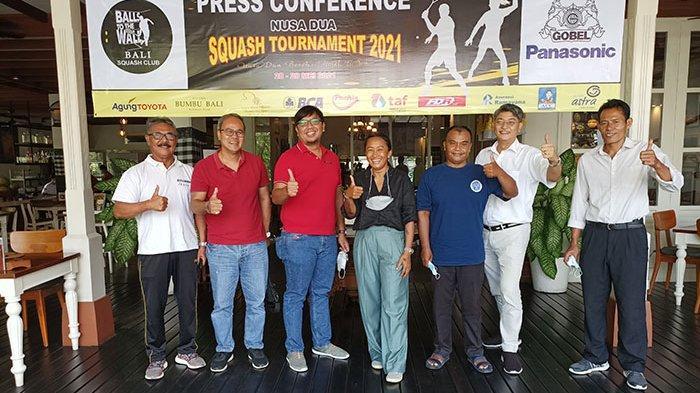 Cikal Bakal Bangkitnya Olahraga Squash di Bali,25 Peserta Akan Ikuti Nusa Dua Squash Tournament 2021