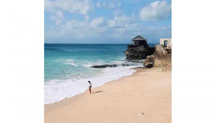 Keindahan Kubu Beach Bali, Karang Berlubang Jadi Kolam Renang Alami, Ini Tips Temukan Lokasinya